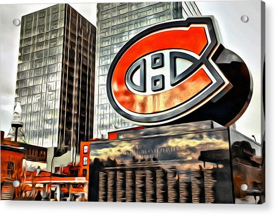 Acrylic Print featuring the photograph Montreal C by Alice Gipson