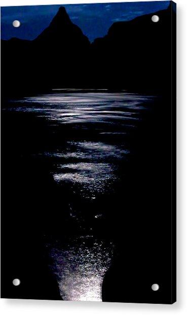 Moon Water Acrylic Print