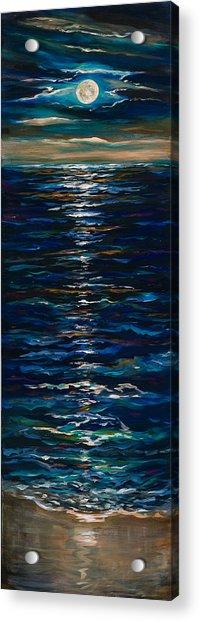 Moonlight Reflection Acrylic Print