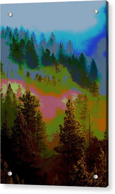 Morning Arrives In The Pacific Northwest Acrylic Print