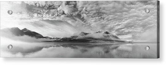 Morning Mist Acrylic Print by Marloes Van Pareren