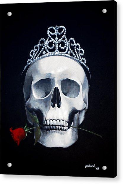Mortal Beauty Acrylic Print