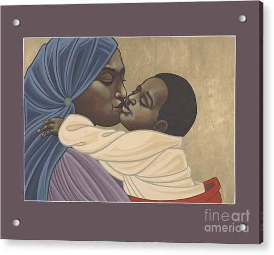 Mother And Child Of Kibeho 211 Acrylic Print