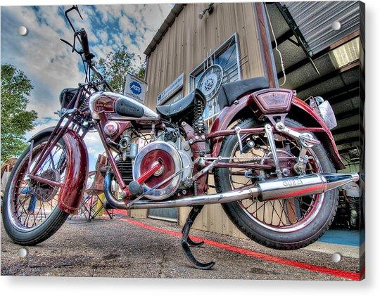Moto Guzzi Classic Acrylic Print