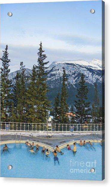 Mountain Paradise Acrylic Print