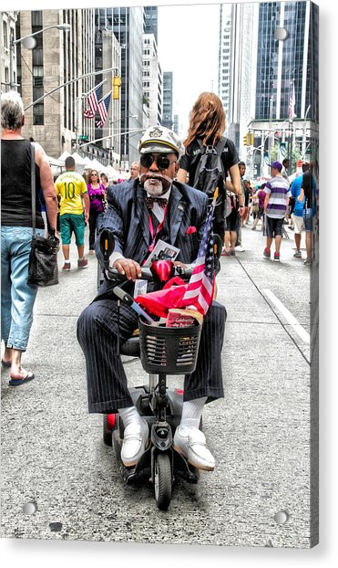 Acrylic Print featuring the photograph Mr. Mobile by Alice Gipson