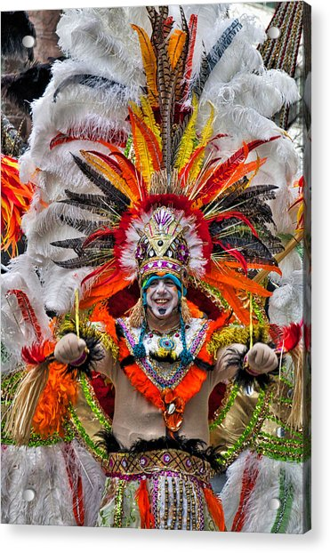 Acrylic Print featuring the photograph Mummer Wow by Alice Gipson