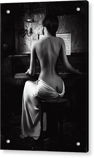 Music Of The Body Acrylic Print