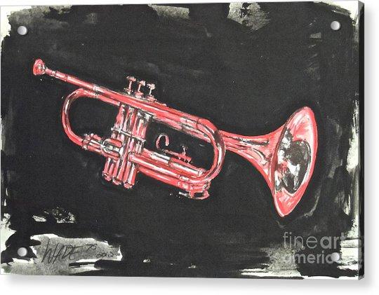 My Cousin's Trumpet Acrylic Print