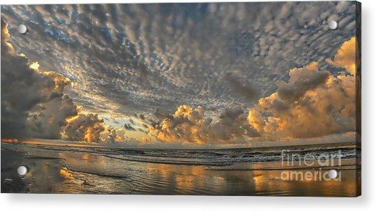 Myrtle Beach Panorama 2 Acrylic Print