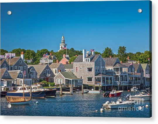 Nantucket Town Acrylic Print