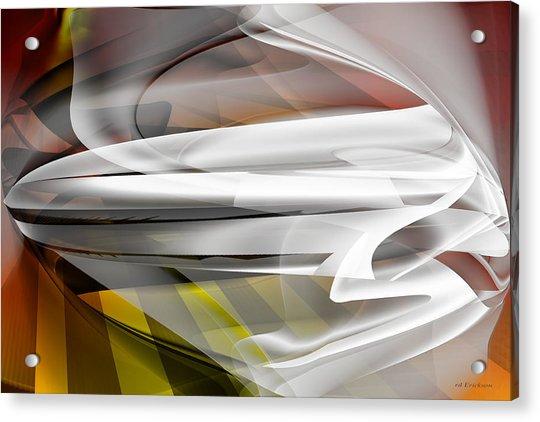 Napkin Folding - Abstract Acrylic Print