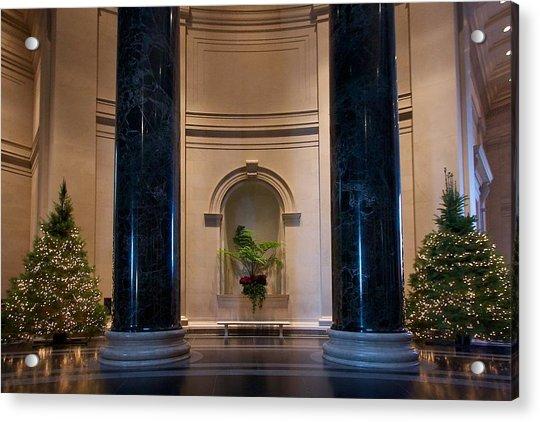 National Gallery Of Art Christmas Acrylic Print