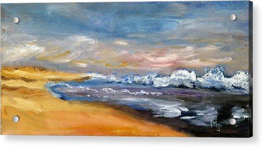 Nauset Beach Surf Acrylic Print