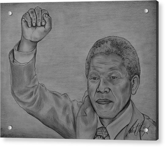 Nelson Mandela Tribute art print