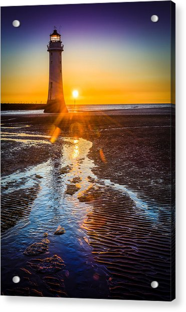 New Brighton Lighthouse Acrylic Print