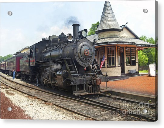 New Hope Station Acrylic Print