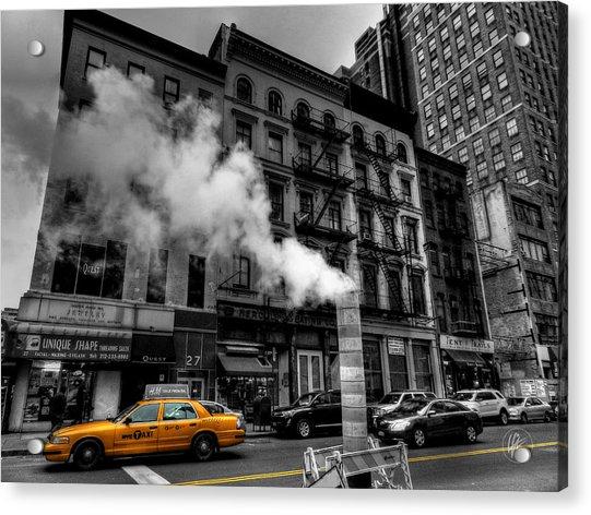 New York City - Lower Manhattan 006 Acrylic Print