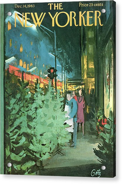 New Yorker December 14th, 1963 Acrylic Print