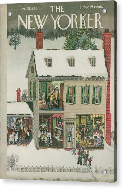 New Yorker December 21, 1946 Acrylic Print