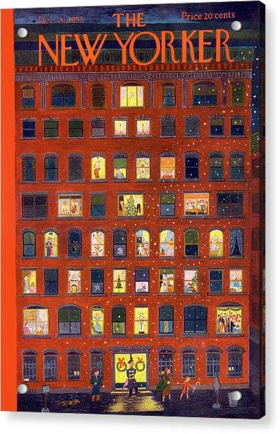 New Yorker December 26, 1953 Acrylic Print