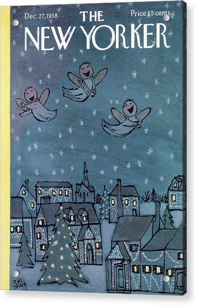 New Yorker December 27th, 1958 Acrylic Print