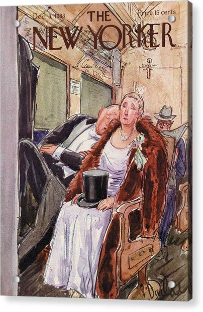 New Yorker December 3rd, 1938 Acrylic Print