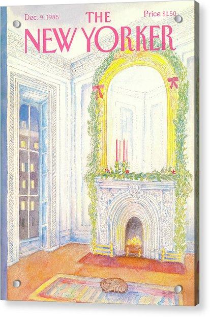 New Yorker December 9th, 1985 Acrylic Print