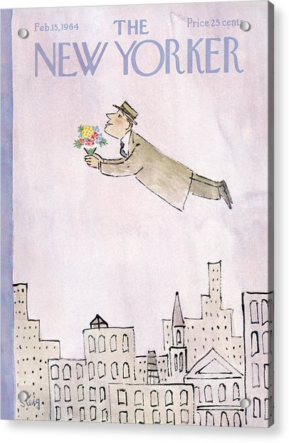 New Yorker February 15th, 1964 Acrylic Print