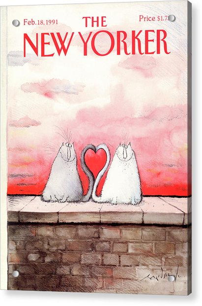 New Yorker February 18th, 1991 Acrylic Print