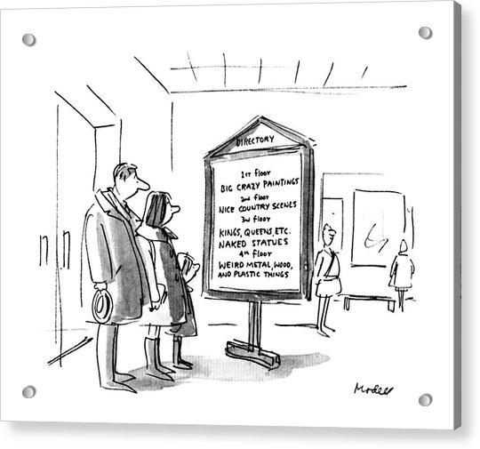 New Yorker January 10th, 1983 Acrylic Print