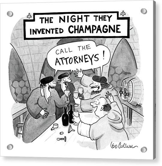New Yorker January 8th, 1990 Acrylic Print