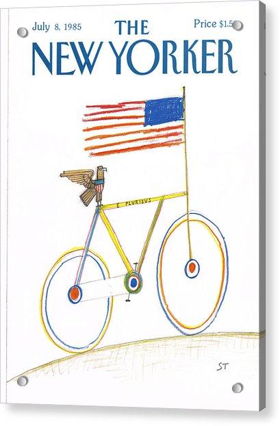 New Yorker July 8th, 1985 Acrylic Print