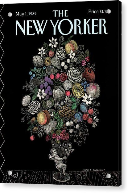 New Yorker May 1st, 1989 Acrylic Print