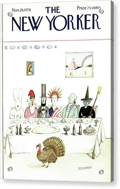 New Yorker November 29th, 1976 Acrylic Print
