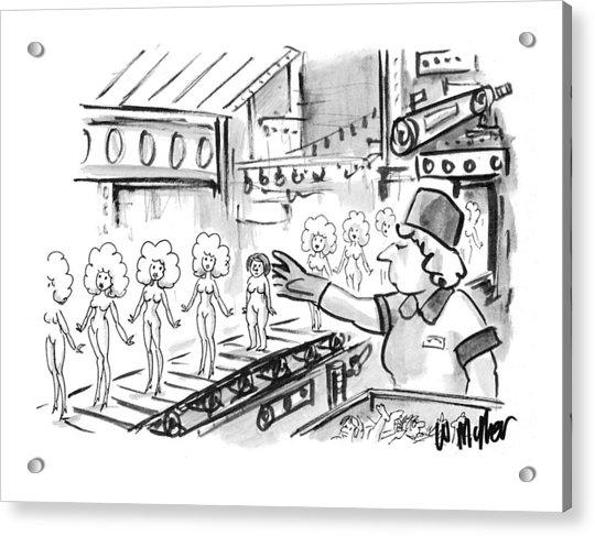 New Yorker October 4th, 1993 Acrylic Print