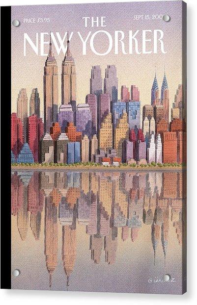 New Yorker September 15th, 2003 Acrylic Print