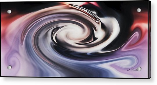 No Escape From The Black Hole Acrylic Print