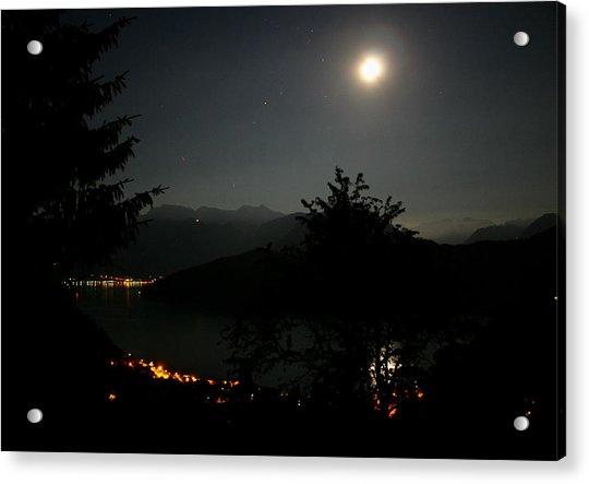 Nocturne In Switzerland Acrylic Print