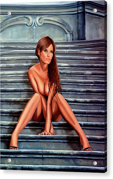Nude City Beauty Acrylic Print