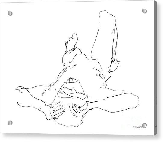 Nude_male_drawings-22 Acrylic Print