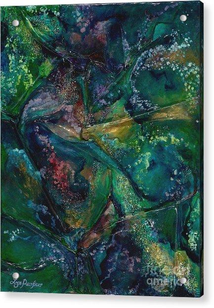 Ocean Floor Acrylic Print
