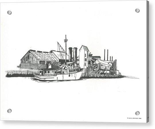 Oceanport Fish Factory Acrylic Print