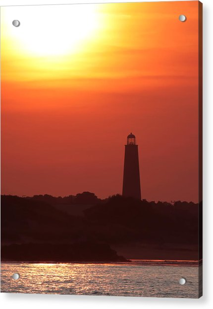 Old Cape Henry Lighthouse  Acrylic Print