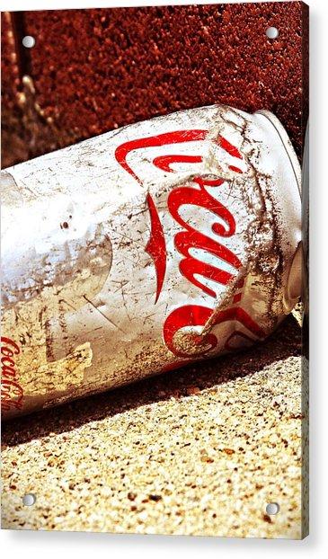 Old Coke Can Acrylic Print