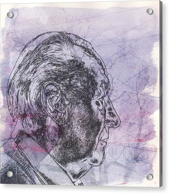Old Man Acrylic Print