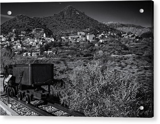 Old Mining Town No.23 Acrylic Print