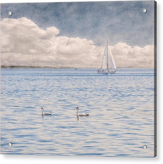 On A Summer's Breeze Acrylic Print