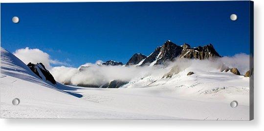 On Fox Glacier Acrylic Print