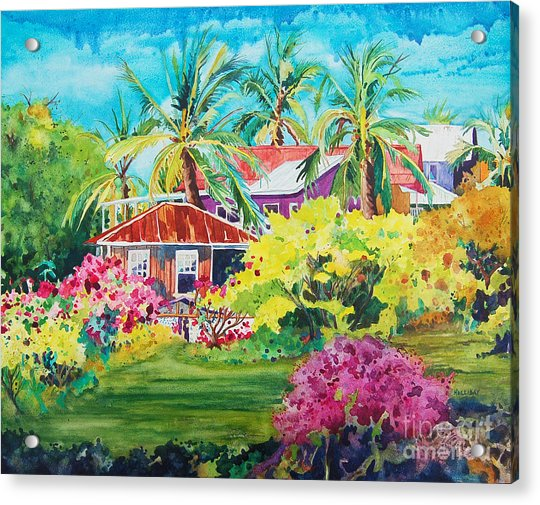 On The Big Island Acrylic Print